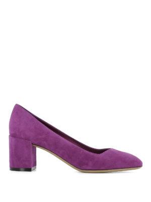 Salvatore Ferragamo: court shoes - Arezzo suede pumps