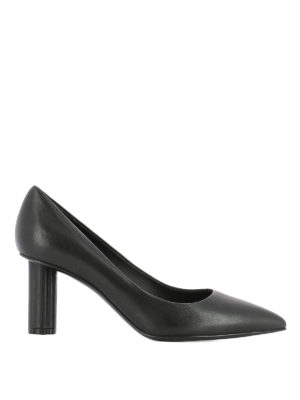 Salvatore Ferragamo: court shoes - Badia 70 black leather pumps