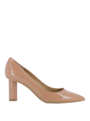 Salvatore Ferragamo: court shoes - Badia 70 patent leather pumps
