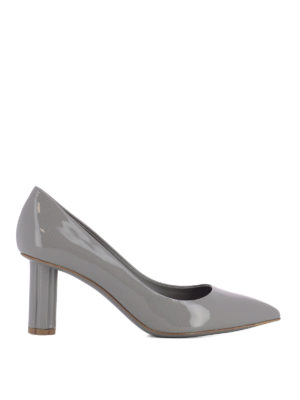 Salvatore Ferragamo: court shoes - Badia 70 patent pumps