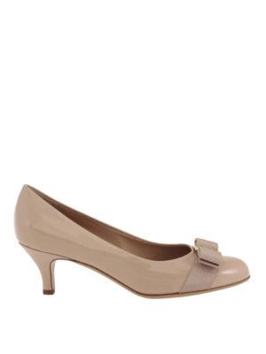 Salvatore Ferragamo: court shoes - Carla patent leather court shoes