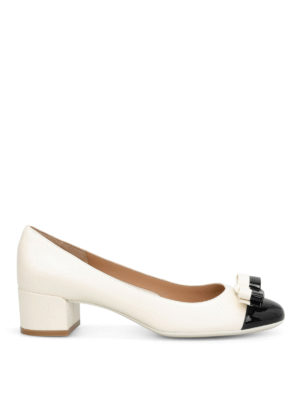 Salvatore Ferragamo: court shoes - Elea bicolour court shoes