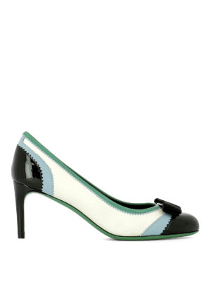 Salvatore Ferragamo: court shoes - Eloisa zigzag leather pumps