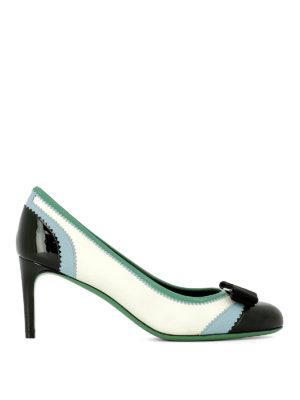 Salvatore Ferragamo: court shoes - Eloisa zigzag leather pumps