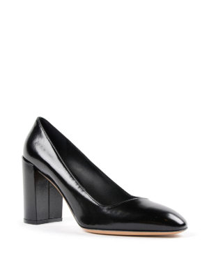 Salvatore Ferragamo: court shoes online - Arezzo leather pump