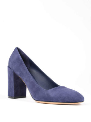 Salvatore Ferragamo: court shoes online - Arezzo suede pump