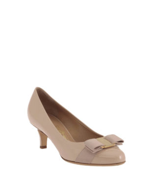 Salvatore Ferragamo: court shoes online - Carla patent leather court shoes