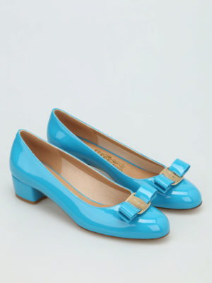 Salvatore Ferragamo: court shoes online - Vara patent court shoes