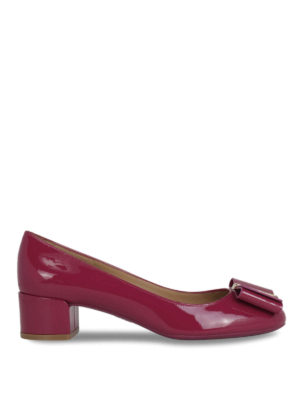 Salvatore Ferragamo: court shoes - Patent leather pumps