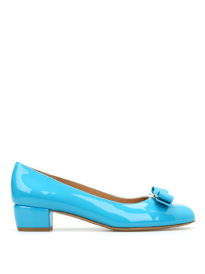 Salvatore Ferragamo: court shoes - Vara patent court shoes