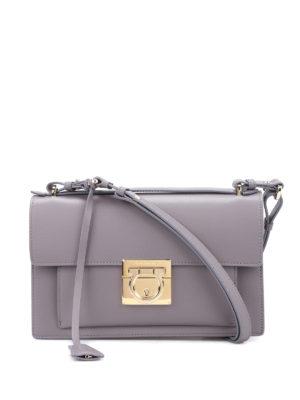 Salvatore Ferragamo: cross body bags - Aileen leather crossbody bag
