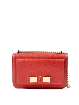 Salvatore Ferragamo: cross body bags - Ginevra leather small bag