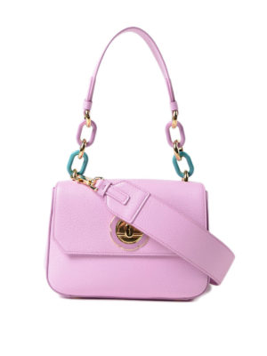Salvatore Ferragamo: cross body bags - Lexi colourful chain handle bag