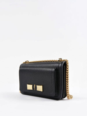 Salvatore Ferragamo: cross body bags online - Ginevra leather small bag