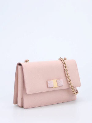 Salvatore Ferragamo: cross body bags online - Ginny leather cross body bag