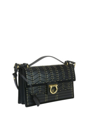 Salvatore Ferragamo: cross body bags online - Leather medium cross body bag