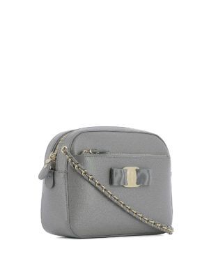 Salvatore Ferragamo: cross body bags online - Lydia saffiano cross body bag