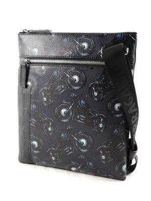 Salvatore Ferragamo: cross body bags online - Moto patterned leather crossbody