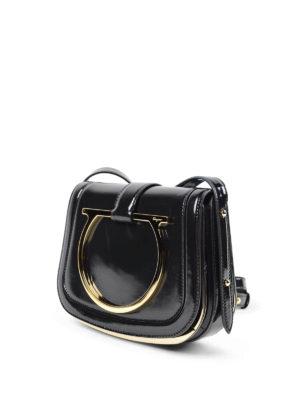 Salvatore Ferragamo: cross body bags online - Sabine leather crossbody