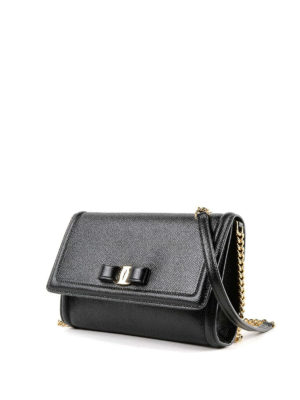 Salvatore Ferragamo: cross body bags online - Vara bow leather cross body bag