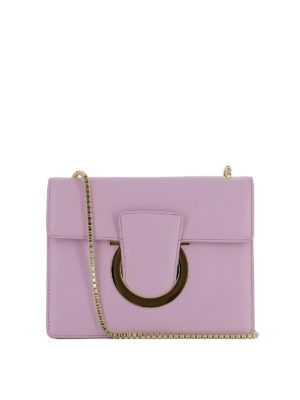 Salvatore Ferragamo: cross body bags - Thalia leather bag