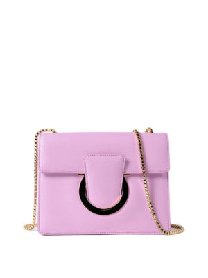 Salvatore Ferragamo: cross body bags - Thalia leather cross body bag