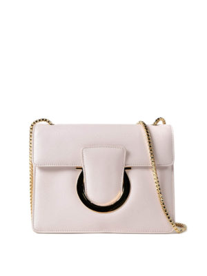 Salvatore Ferragamo: cross body bags - Thalia leather crossbody