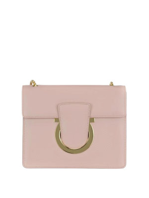 Salvatore Ferragamo: cross body bags - Thalia medium leather bag