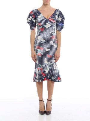 Salvatore Ferragamo: knee length dresses online - Structured knee length dress