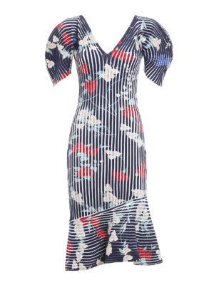 Salvatore Ferragamo: knee length dresses - Structured knee length dress