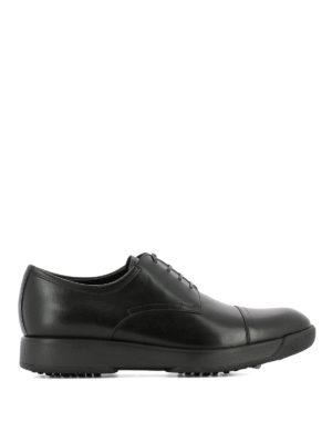 Salvatore Ferragamo: lace-ups shoes - Doland leather Derby shoes