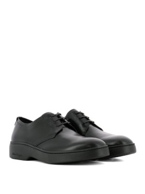 Salvatore Ferragamo: lace-ups shoes online - Brushed leather Derby shoes