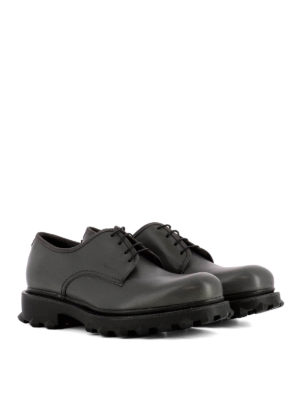 Salvatore Ferragamo: lace-ups shoes online - Dassel studded sole leather Derby