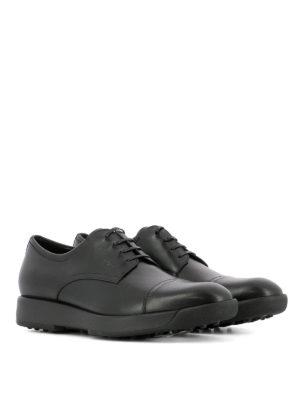 Salvatore Ferragamo: lace-ups shoes online - Doland leather Derby shoes