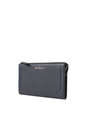 Salvatore Ferragamo: laptop bags & briefcases online - Firenze grained leather briefcase