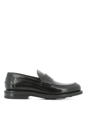Salvatore Ferragamo: Loafers & Slippers - Brushed leather loafers