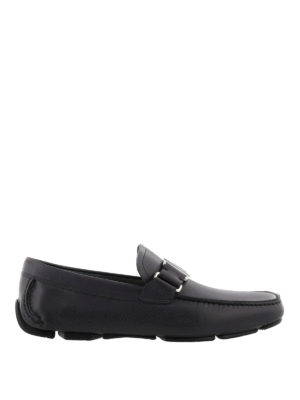 Salvatore Ferragamo: Loafers & Slippers - Leather driving shoes