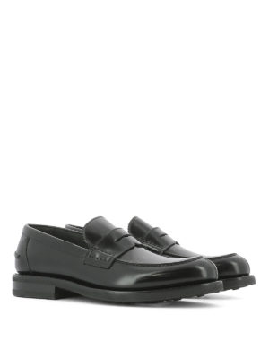 Salvatore Ferragamo: Loafers & Slippers online - Brushed leather loafers