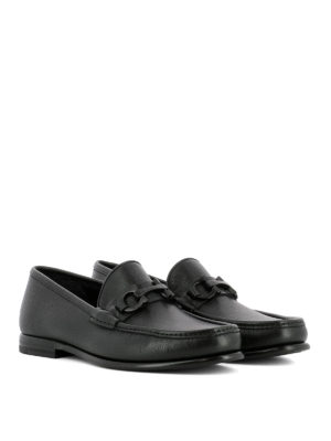 Salvatore Ferragamo: Loafers & Slippers online - Crown leather loafers