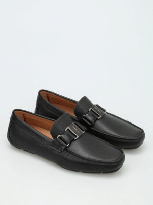 Salvatore Ferragamo: Loafers & Slippers online - Grained leather loafers