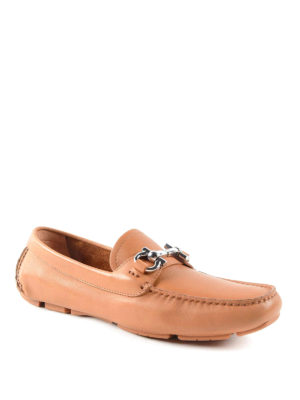 Salvatore Ferragamo: Loafers & Slippers online - Leather driver loafers