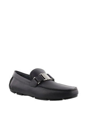 Salvatore Ferragamo: Loafers & Slippers online - Leather driving shoes