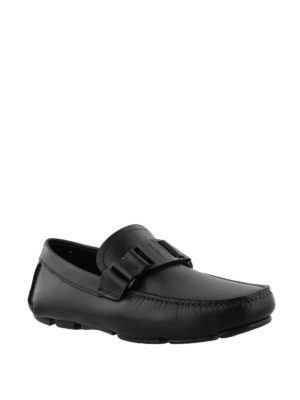 Salvatore Ferragamo: Loafers & Slippers online - Sardegna leather driving shoes