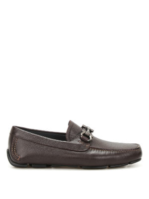 Salvatore Ferragamo: Loafers & Slippers - Parigi lizard print leather loafers