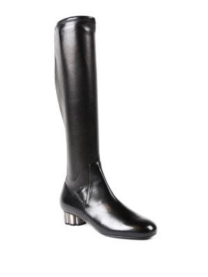 SALVATORE FERRAGAMO: stivali online - Stivali Razzoli tacco fiore