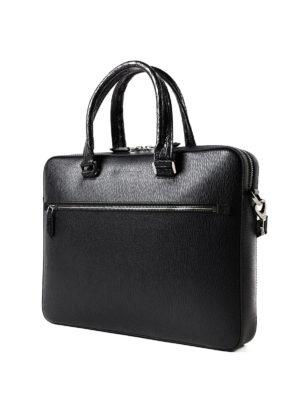 SALVATORE FERRAGAMO: borse da ufficio online - Valigetta Revival 3.0 nera