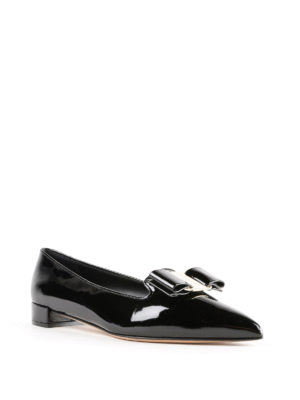 SALVATORE FERRAGAMO: Mocassini e slippers online - Slipper Alice in vernice