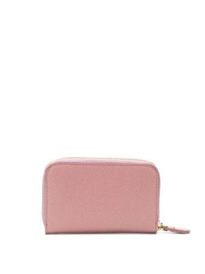SALVATORE FERRAGAMO: portafogli online - Portamonete in pelle rosa