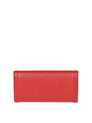 SALVATORE FERRAGAMO: portafogli online - Portafoglio Vara in pelle rossa