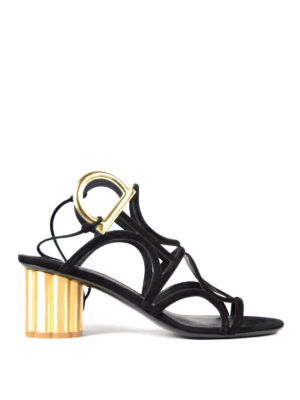Salvatore Ferragamo: sandals - Da Vinci double Gancio sandals